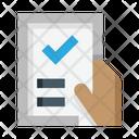 Verified Document Verified File File Icon