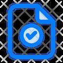 Verified Good Checklist Icon