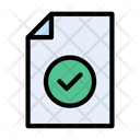 File Document Verified Icon