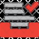 Verified File Storage Verified Folders Verified Files Icon