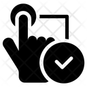 Verified Fingerprint Icon