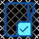 Verified Folder Accept Folder Icon
