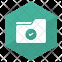 Verified Folder Document File Icon