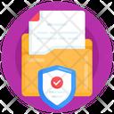 Folder Protection Folder Security Verified Folder Security Icon