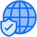 World Global Shield Icon