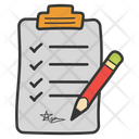 Contract Agreement Business Documentation Icon