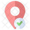 Verified Location Map Icon