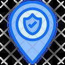Location Check Protect Icon