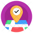 Approved Location Verified Location Pinned Location Icon
