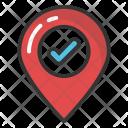 Verified location Icon