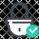 Verified Lock Icon