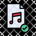 Music File Mp Icon