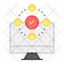 Verified Network Approved Network Verified Monitor Icon