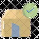 Artboard Verified Home Verified House Icon