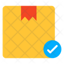 Verified Parcel Verified Package Cardboard Icon