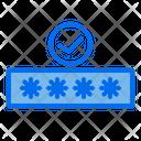 Verified Password Icon