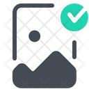 Verified Image Picture Icon