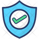 Antivirus Shield Buckler Protection Icon