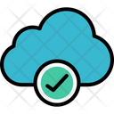 Cloud Securityv Verified Security Protected Security Icon