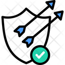 Quality Assurancev Verified Security Shield Icon