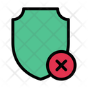 Security Cancel Protection Icon