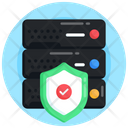 Secure Server Data Server Security Database Protection Icon