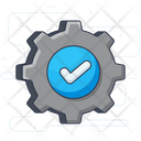 Verified Setting Icon