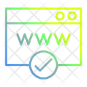 Page Web Banking Icon