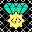 Quality Quality Coding Code Icon