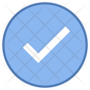 Checked Accept Verify Icon