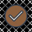 Verify Complete Tick Icon