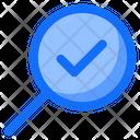 Verify Check Find Icon