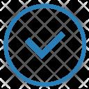 Verify Ok Accept Icon