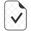 Verify Approve Data Icon