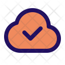 Verify Cloud Computing Icon
