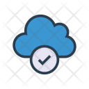 Tick Cloud Check Icon