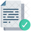 Verify Document Icon