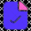 Success Document File Icon