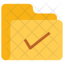 Verify Check Folder Icon