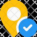 Verify location Icon