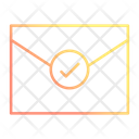 Verify Mail Envelope Icon