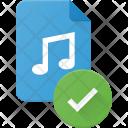 Verify music file Icon