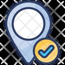 Verify Navigation Pin Right Icon