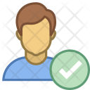 Verify Checked User Icon