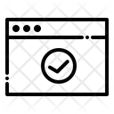 Internet Security Web Icon