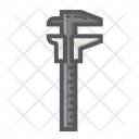 Vernier Caliper Slide Icon
