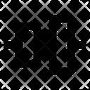 Vertical Align Center Align Icon