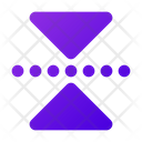 Vertical Reflect Transform Reflect Icon