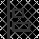 Vertical Left Ui Icon