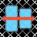 Vertical Align Center Vertical Align Icon
